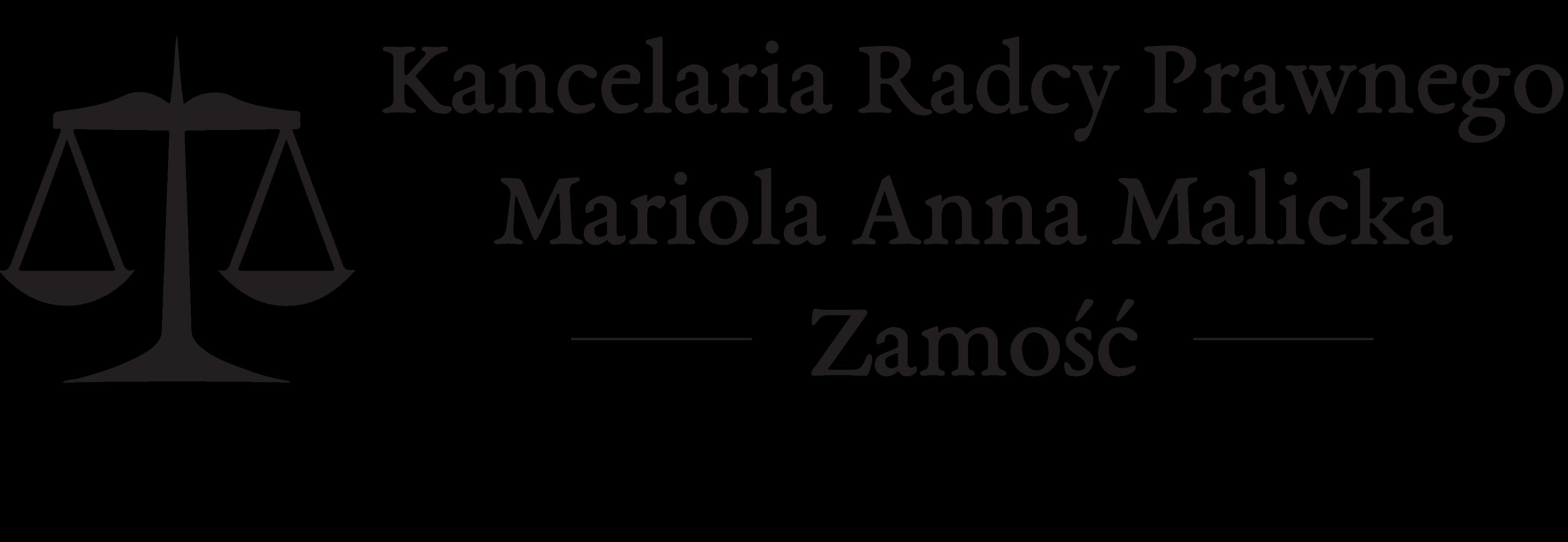 Kancelaria Radcy Prawnego Mariola Anna Malicka - Zamość
